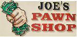 Joe's Pawn Shop logo